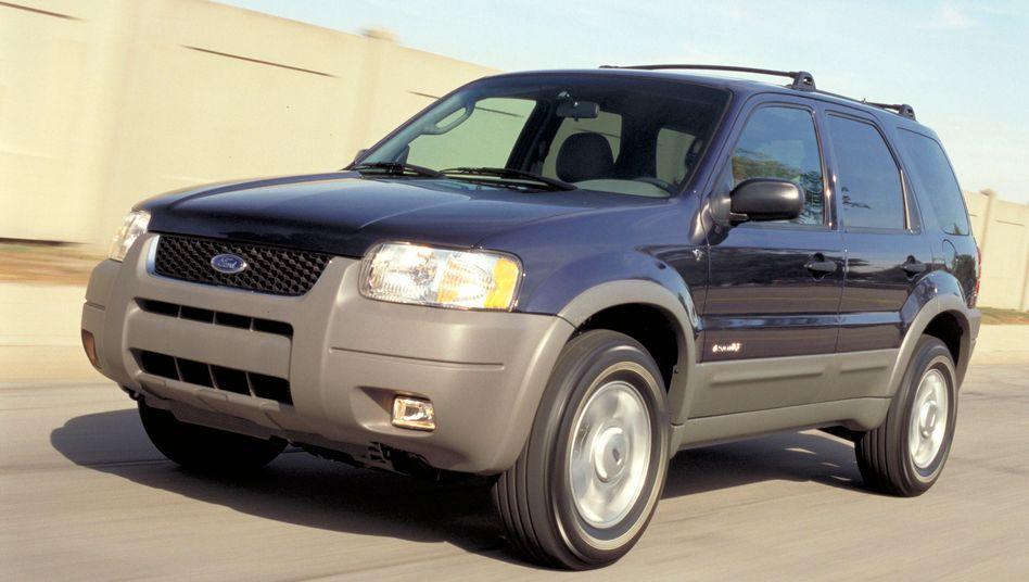 Ford Escape: Betroffen sind unter anderem Modelle des Baujahres 2002