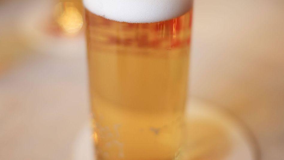 Typisches Bierglas aus dem Rheinland