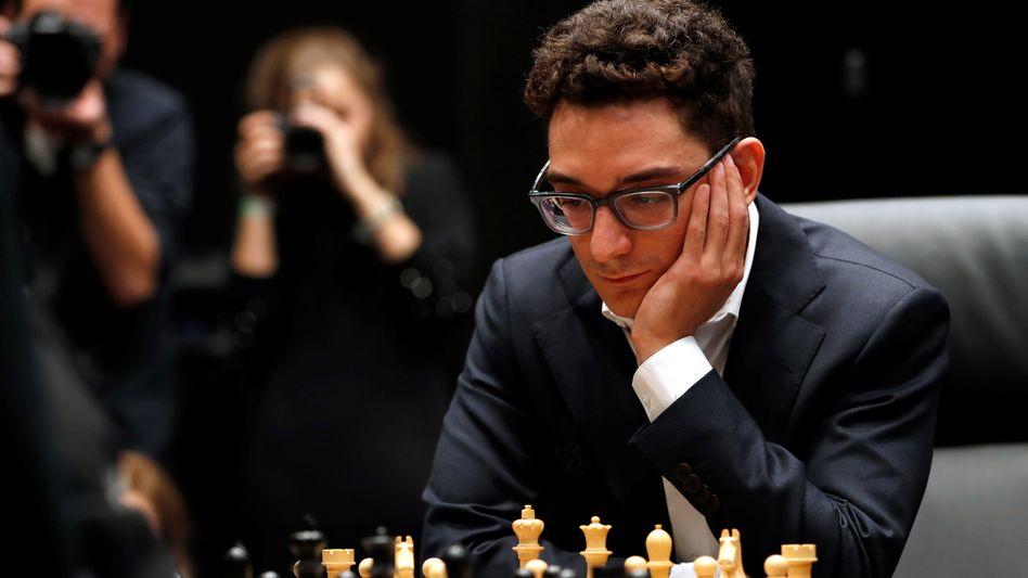Fabiano Caruana hat gute Chancen auf den Sieg beim Kandidatenturnier