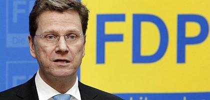 """Guido Westerwelle: """"keine Grundlage für ein Bündnis mit SPD und Grünen"""""""