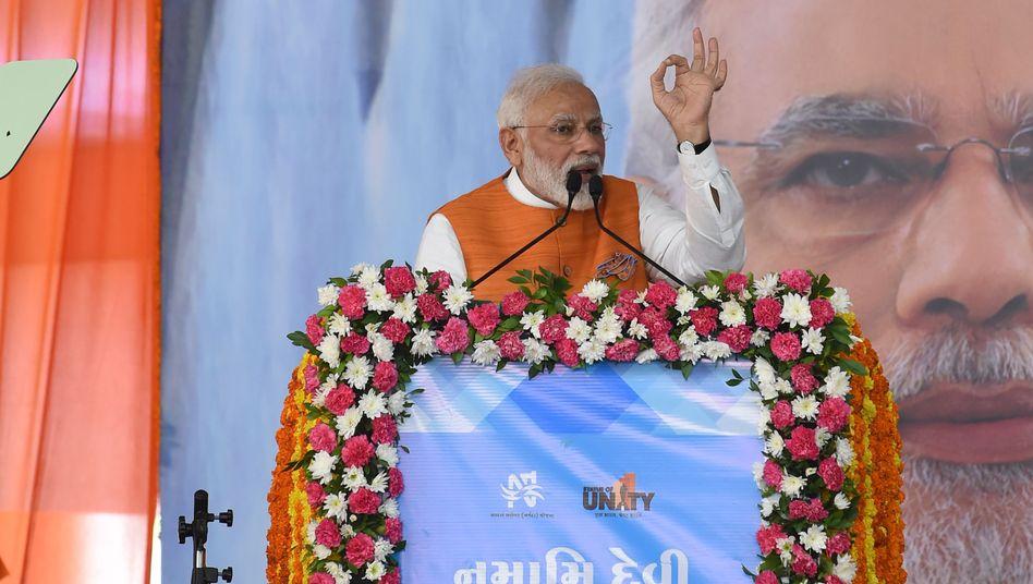 """Indiens Premier Modi: """"Manche Industrieländer versuchen, die kleinste historische Verantwortung abzuschütteln"""""""