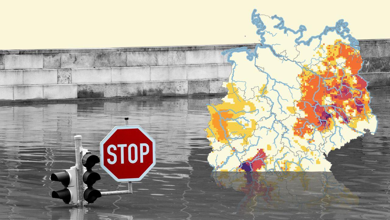 Klimawandel in Deutschland: Wo entstehen Dürreregionen, welche Gegenden ertrinken im Regen?