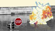 Wo entstehen Dürreregionen, welche Gegenden ertrinken im Regen?