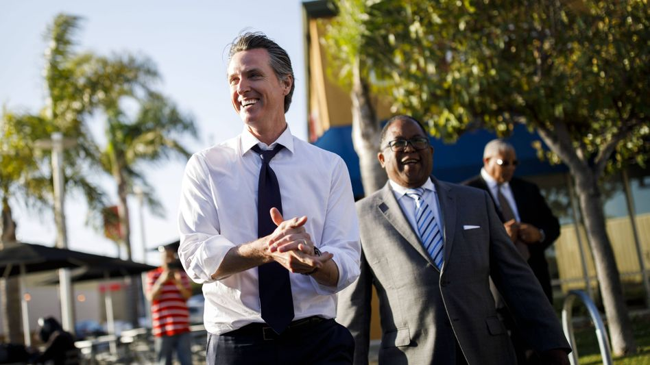 Kaliforniens neuer Gouverneur Gavin Newsom