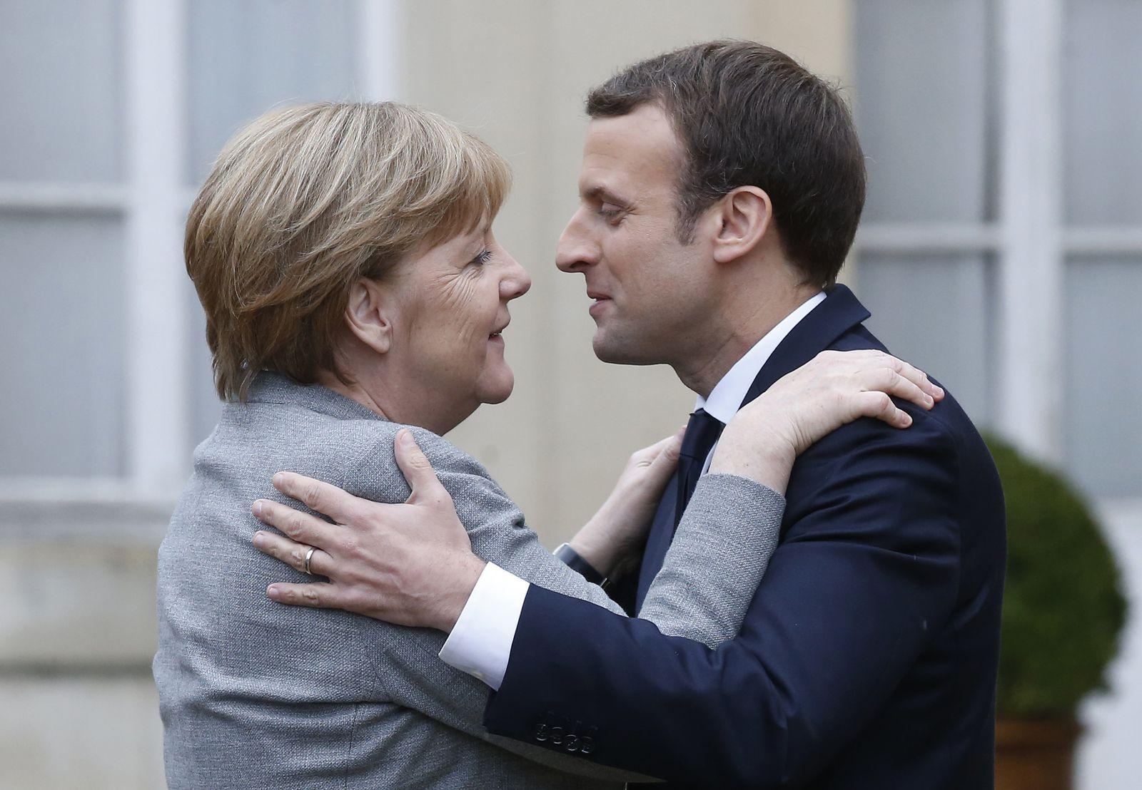 Emmanuel Macron / Angela Merkel