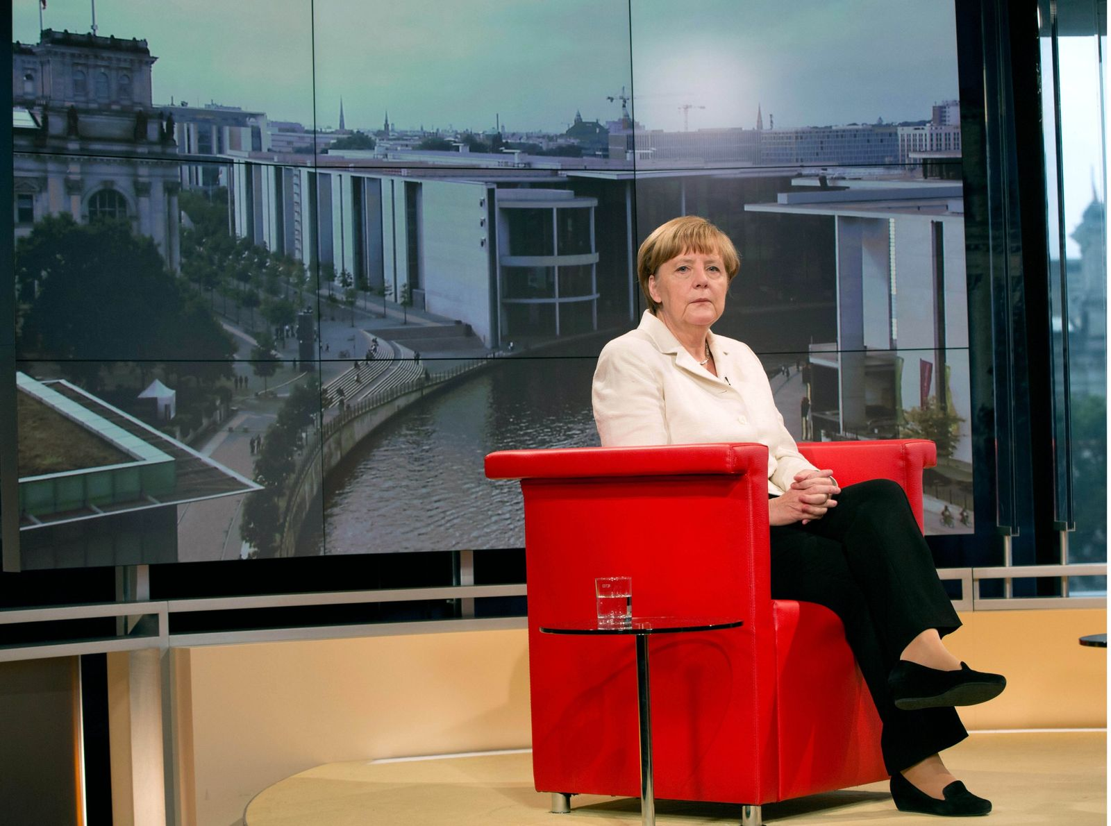 Kanzlerin Angela Merkel/ Netzpolitik.org