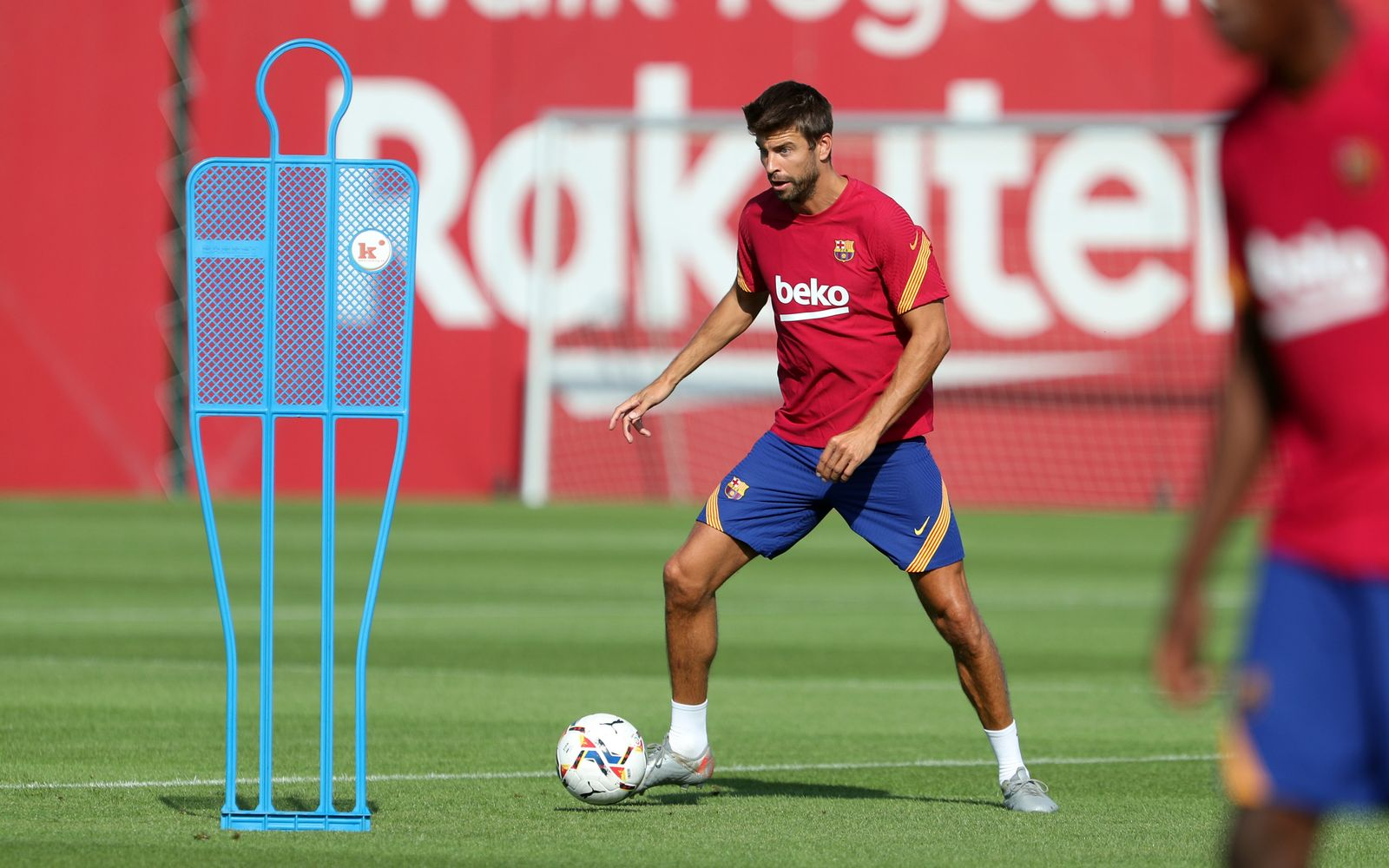 Training des FC Barcelona