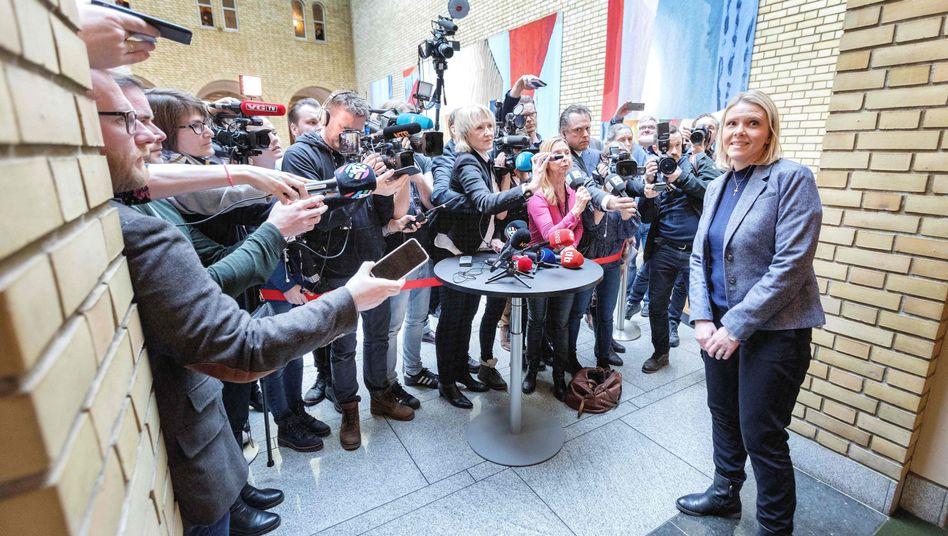 Sylvi Listhaug hat ihren Rücktritt erklärt