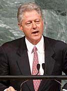 US-Präsident Bill Clinton