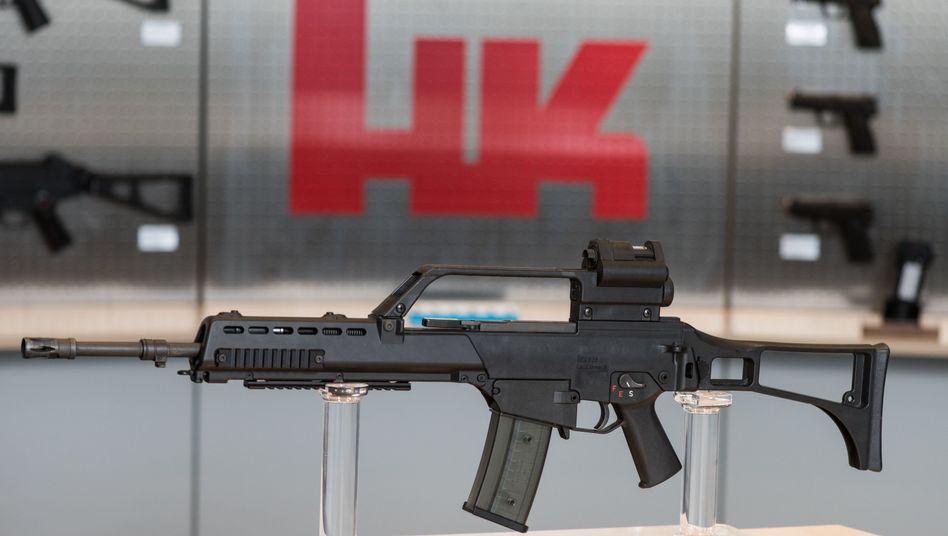 """Sturmgewehr G36: """"Munitionsbedingt leistungsschwaches Gewehrmodell"""""""