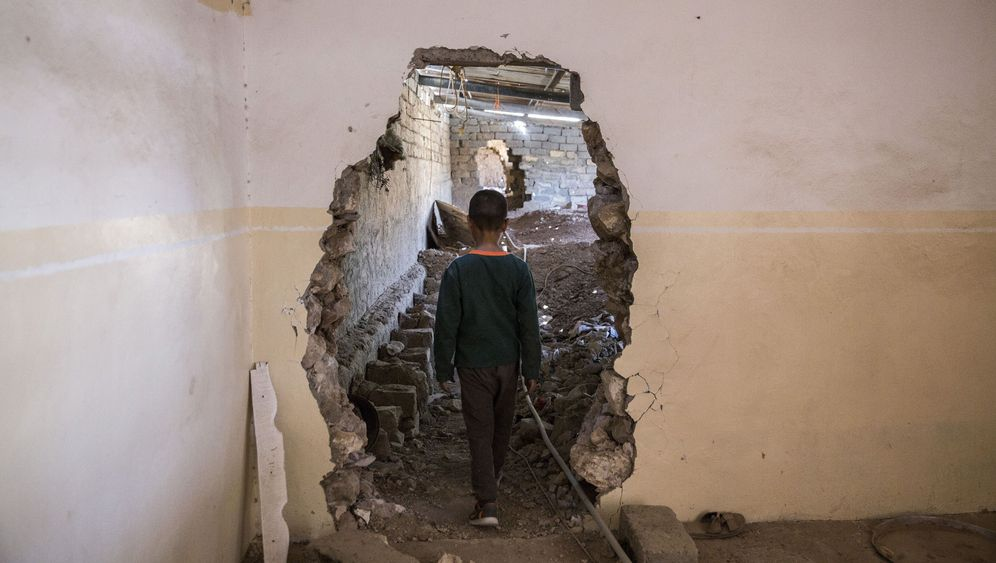 Fotostrecke: In den Tunneln des IS