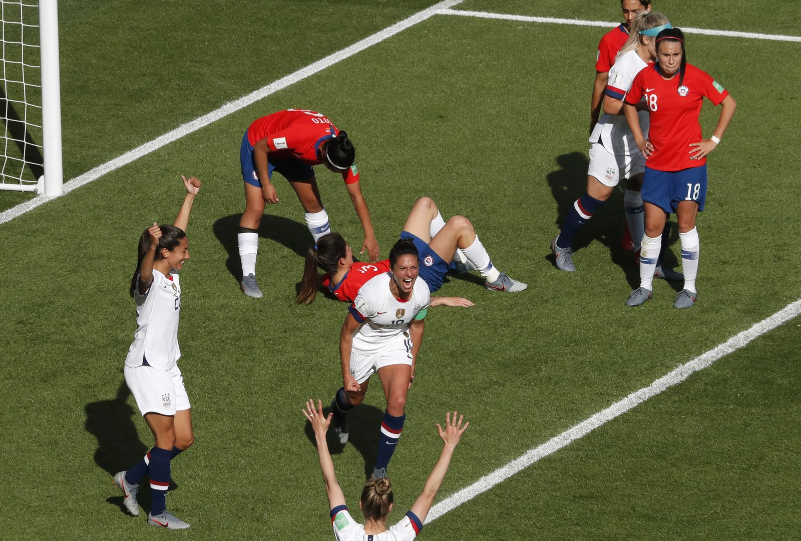 France United States Chile WWCup Soccer