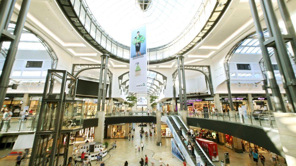Einkaufszentrum: Handel mit den meisten Insolvenzen