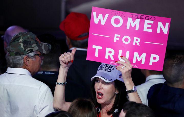 Trump-Unterstützerin: Mittelschicht und Elite driften auseinander