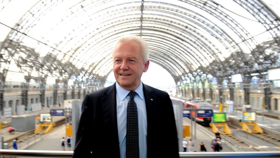 """Bahn-Manager Rüdiger Grube: """"Wir haben hier eine Ausnahmesituation"""""""