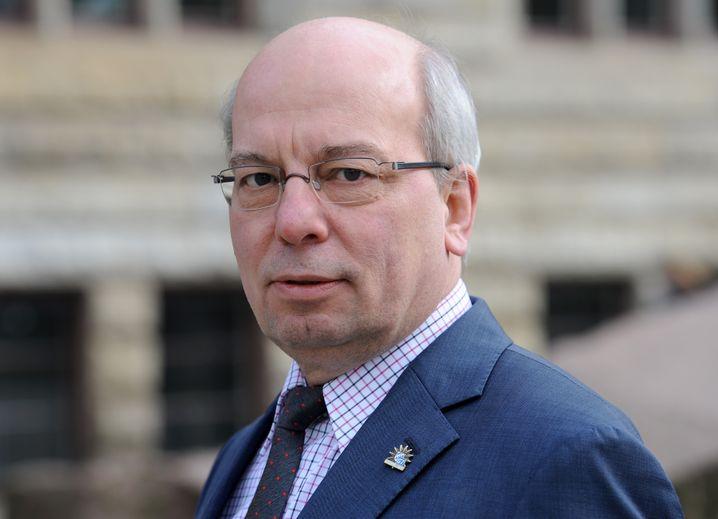 Rainer Wendt, der Vorsitzende der Deutschen Polizeigewerkschaft