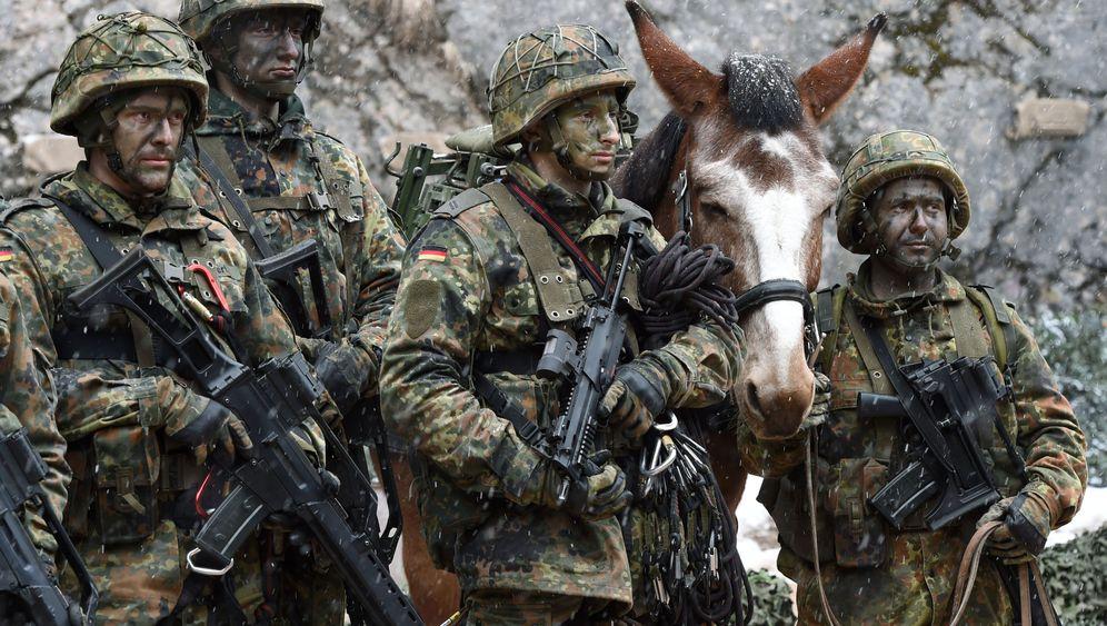 Rüstungsdebatte: Militär in Europa