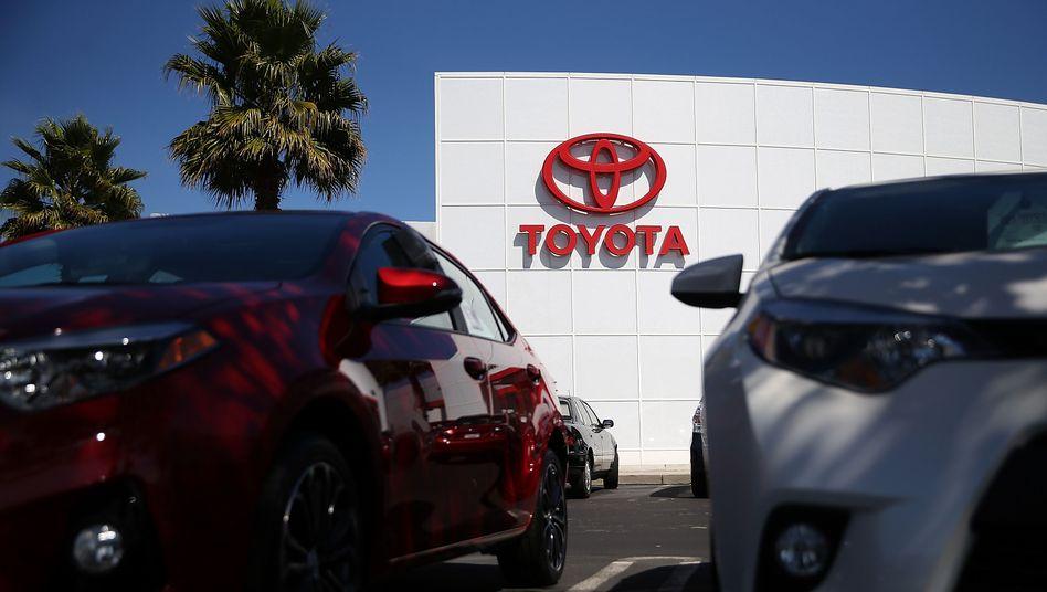 Toyota-Händler in den USA: Teure Rückrufaktionen
