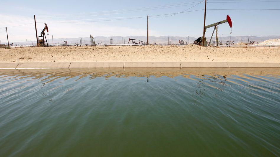 Fracking in Kalifornien (Archivbild): In Deutschland umstritten