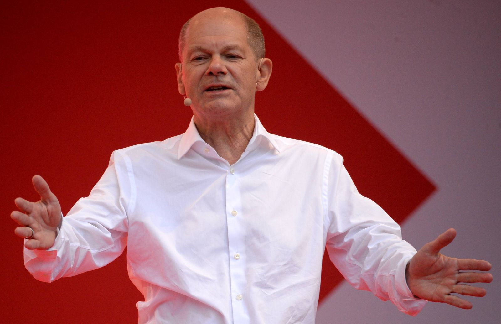 Germany Chancellor Election SPD 6658572 24.09.2021 German Finance Minister, Vice-Chancellor and the Social Democratic P