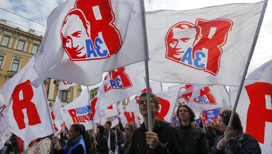 """Putin-nahe Organisation """"Junge Garde"""""""