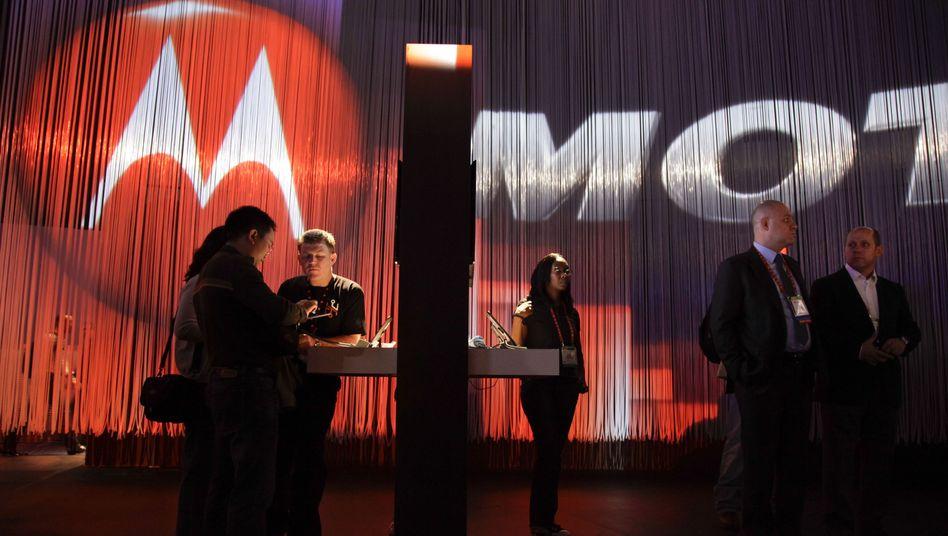 Motorola-Stand auf der CES in Las Vegas: Neues Leben für den Handy-Pionier