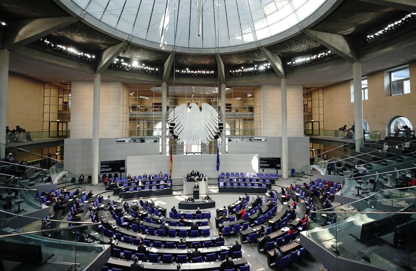 Bundestag - Beginn der Haushaltswoche