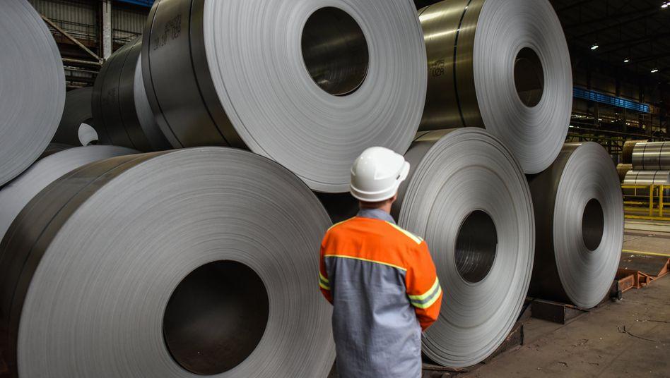 Produktion von Aluminiumblechen: Amerikanische Hersteller sehen sich im Nachteil