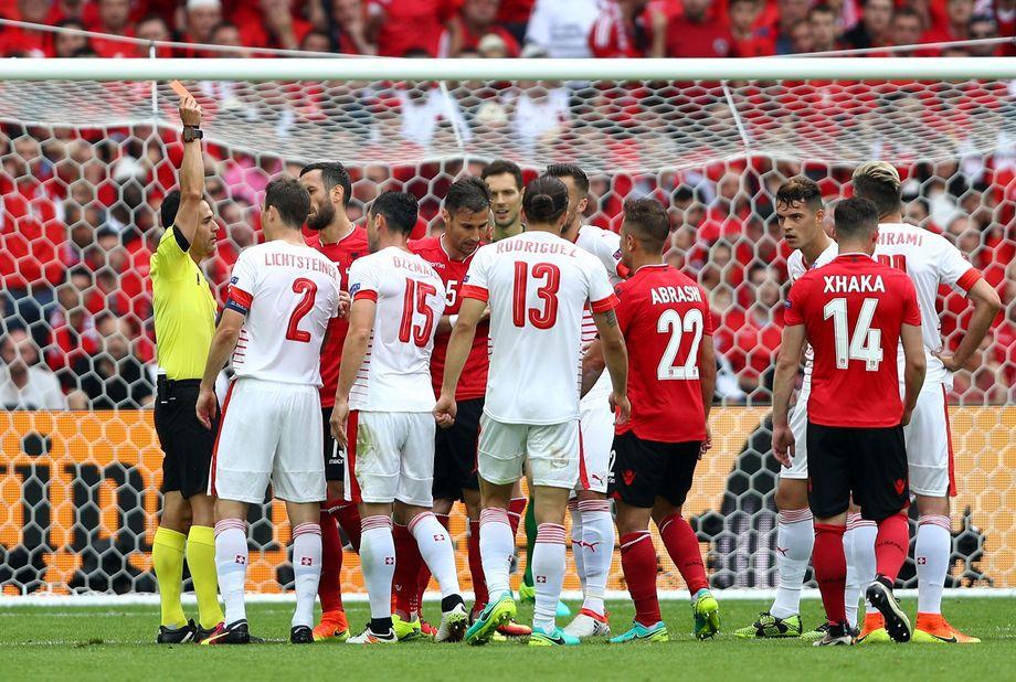 Em Spiel Schweiz Albanien
