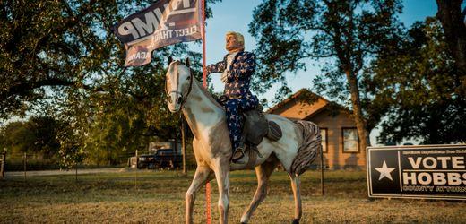 Donald Trump wird von Demokraten in Texas herausgefordert: Revolution in Trumpland