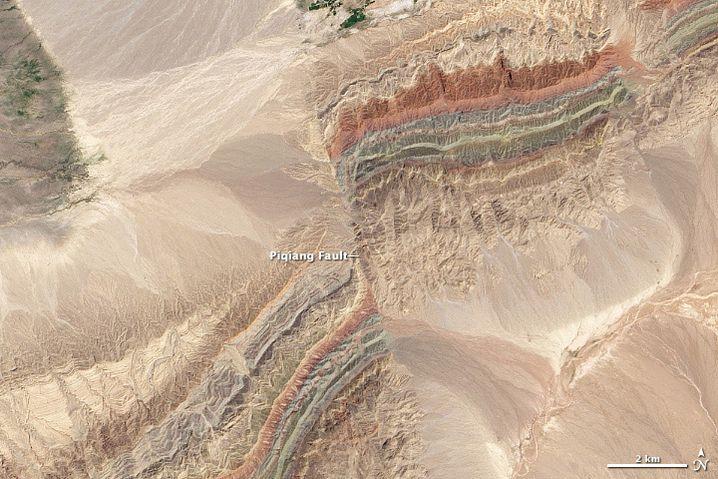 Geologische Schichten