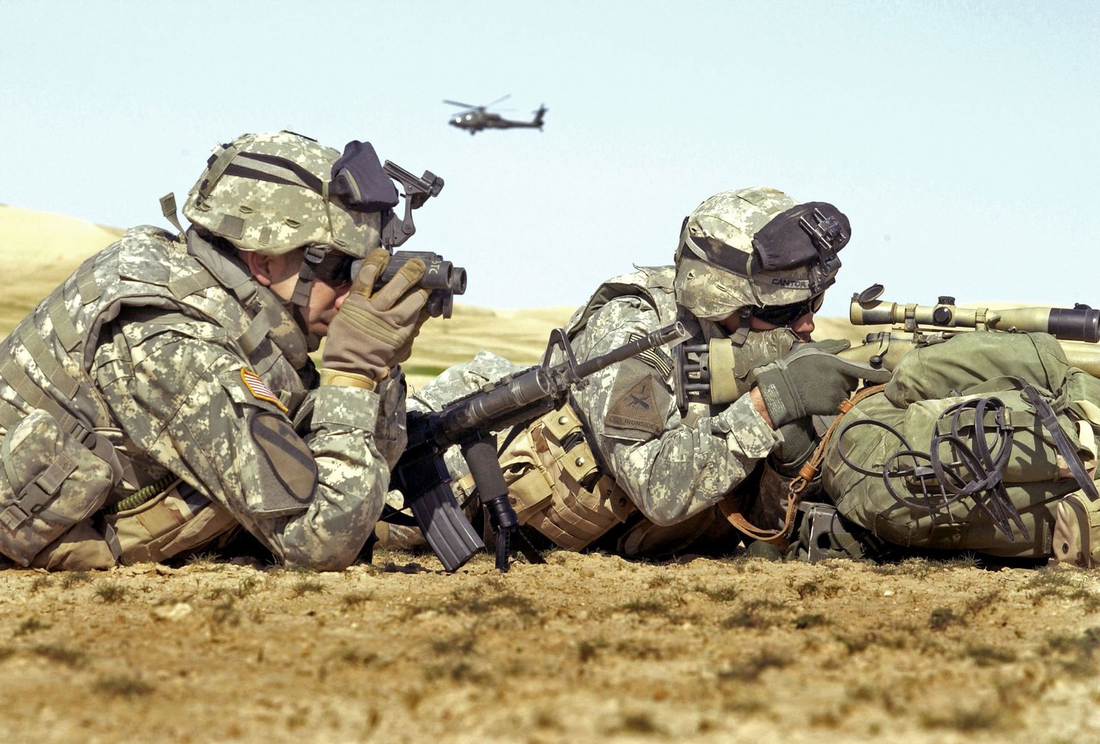 US-Soldaten/ Grenze Syrien