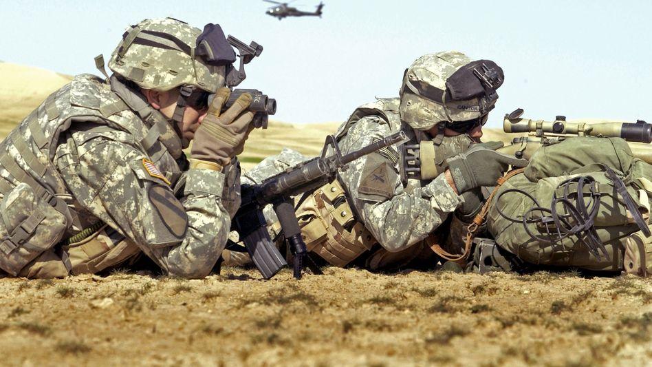 """US-Soldaten (im Irak-Krieg 2006): Giftwaffen-Einsatz in Syrien """"nicht tatenlos zusehen"""""""