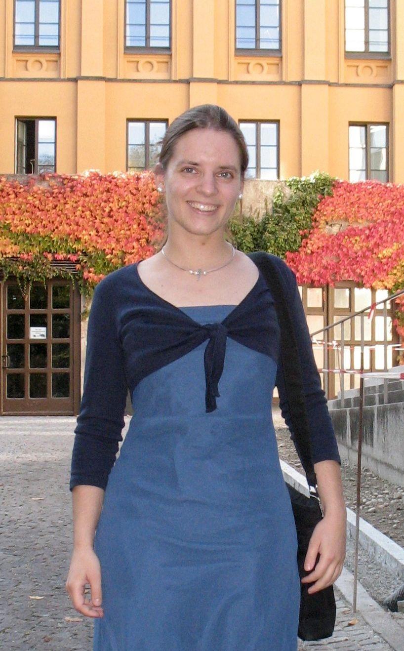EINMALIGE VERWENDUNG Stipendiaten Katharina Behr