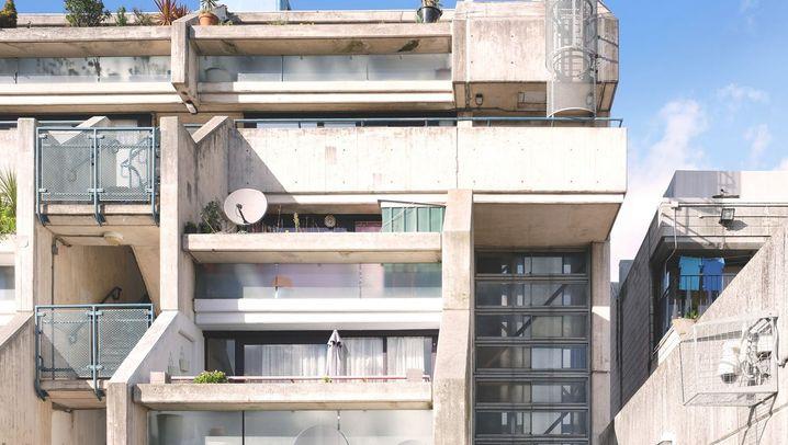 Vom Abriss bedroht: Baukunst aus Backstein und Beton