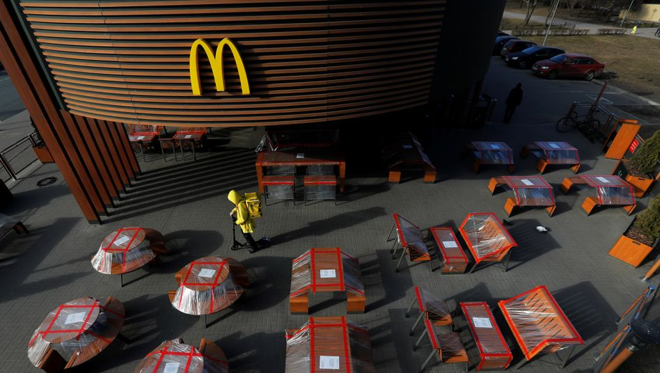 McDonald's-Filiale in Sankt Petersburg