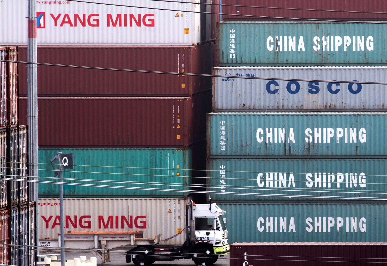 China Handel mit USA