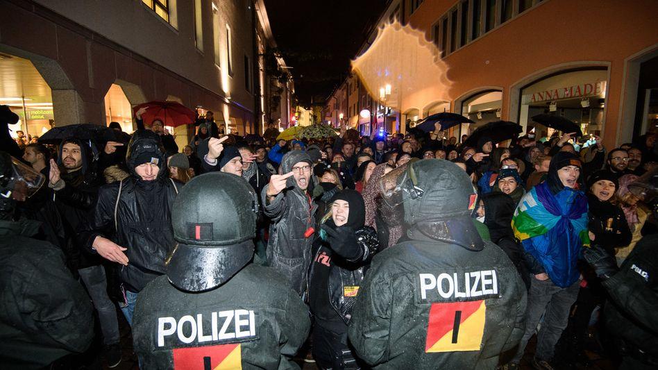 Anti-AfD-Demonstration in Freiburg