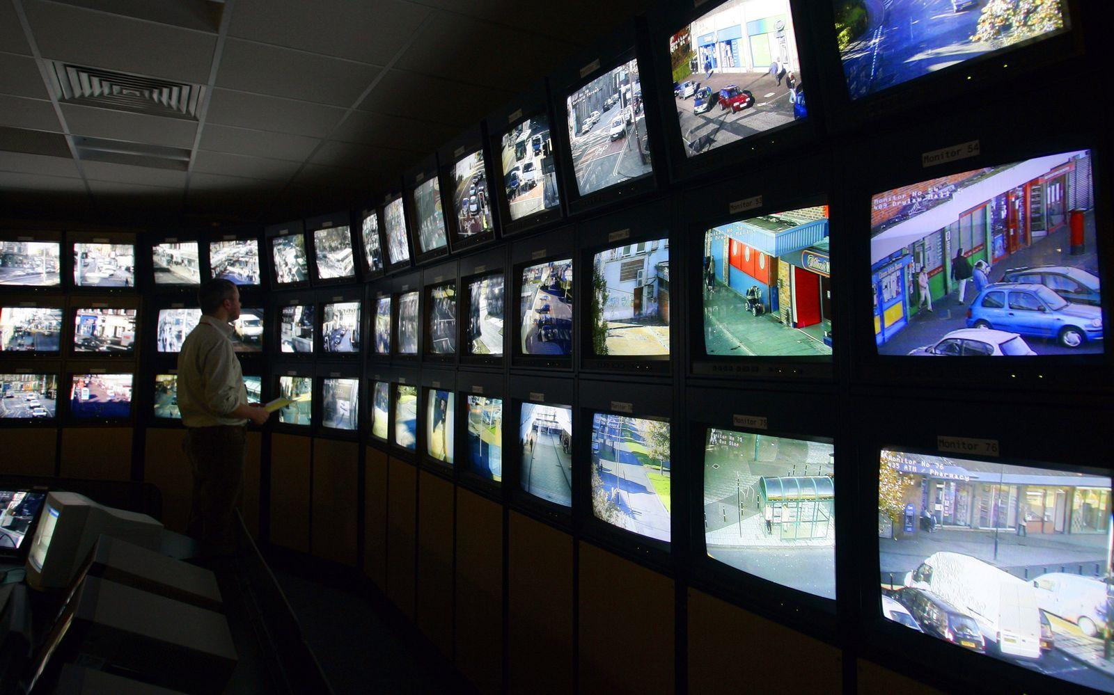 Video-Überwachung / Großbritannien