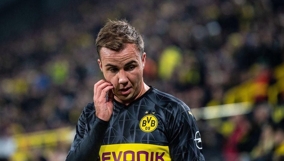 Mario Götze: bald kein BVB-Spieler mehr