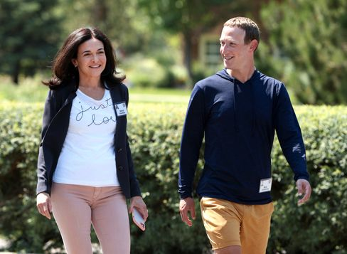 Sheryl Sandberg und Mark Zuckerberg