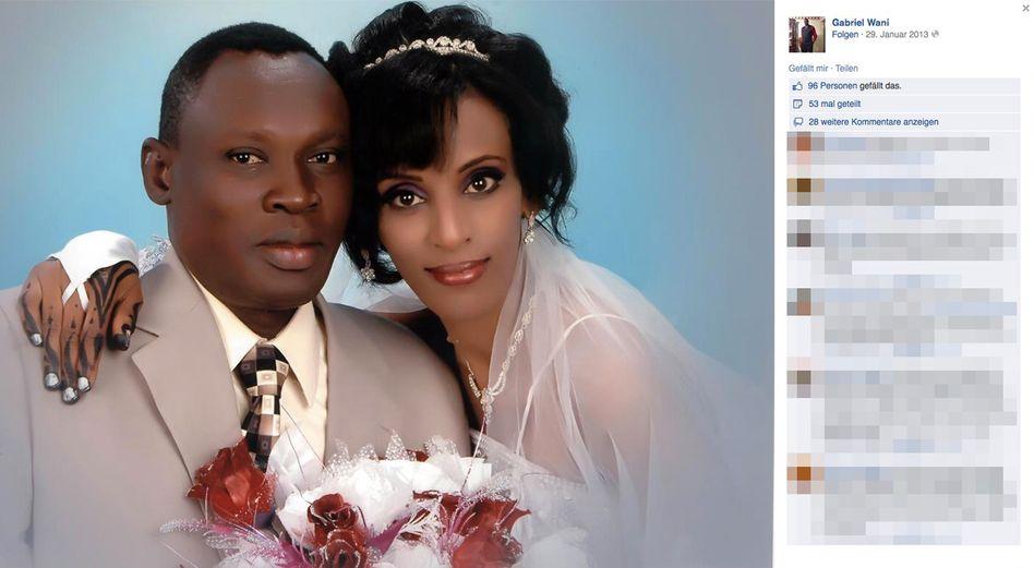 Hochzeitsfoto von Ishak und Wadi (2011): Geburt hinter Gittern