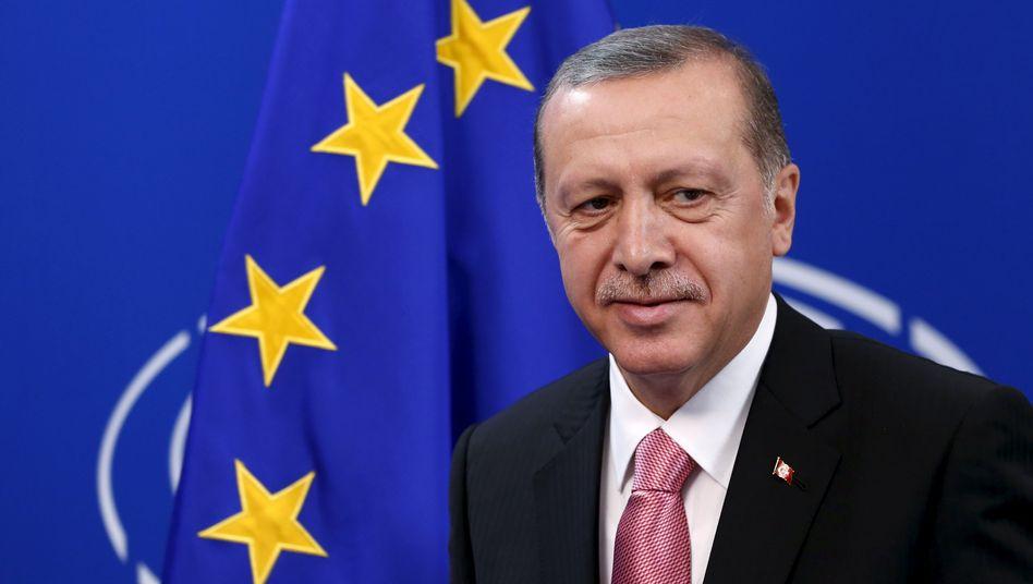 """Türkischer Präsident Erdogan: """"Wie beim Sultan"""""""