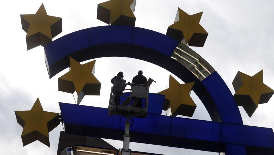 EZB in Frankfurt: Finanz-Europa, die ewige Baustelle