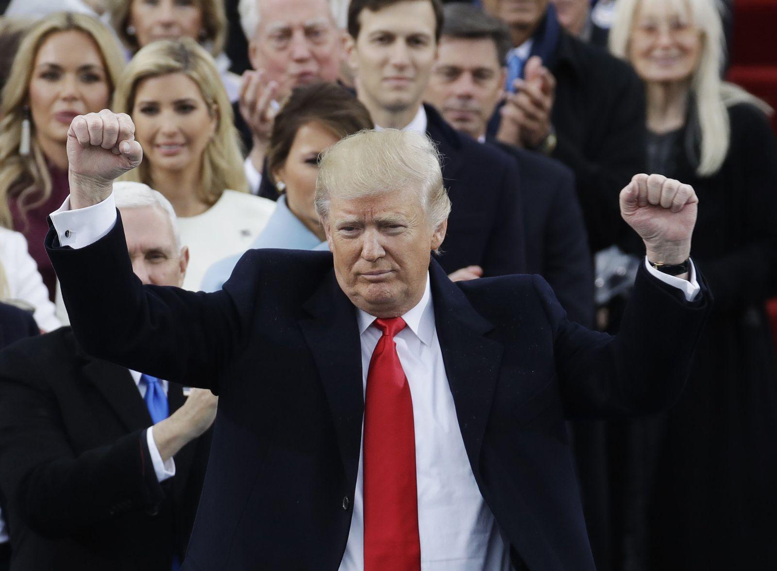Trump/ Amtseinführung/ Jubel