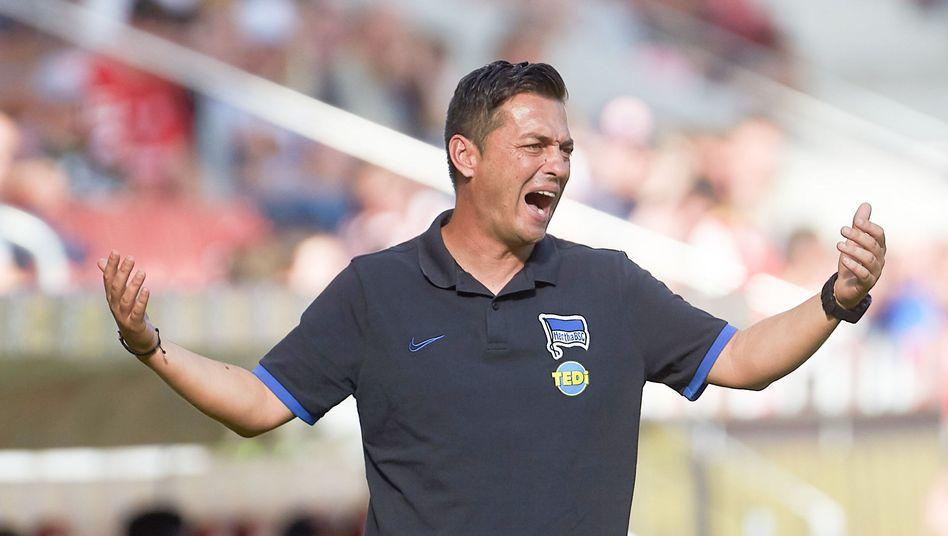 Ante Covic' Start als Hertha-Cheftrainer verlief nicht nach Plan