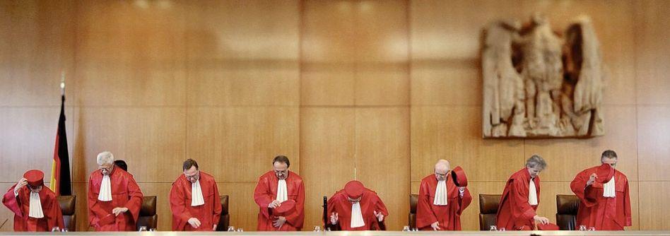 Karlsruher Richter: »Teils zufällig, teils absichtlich«
