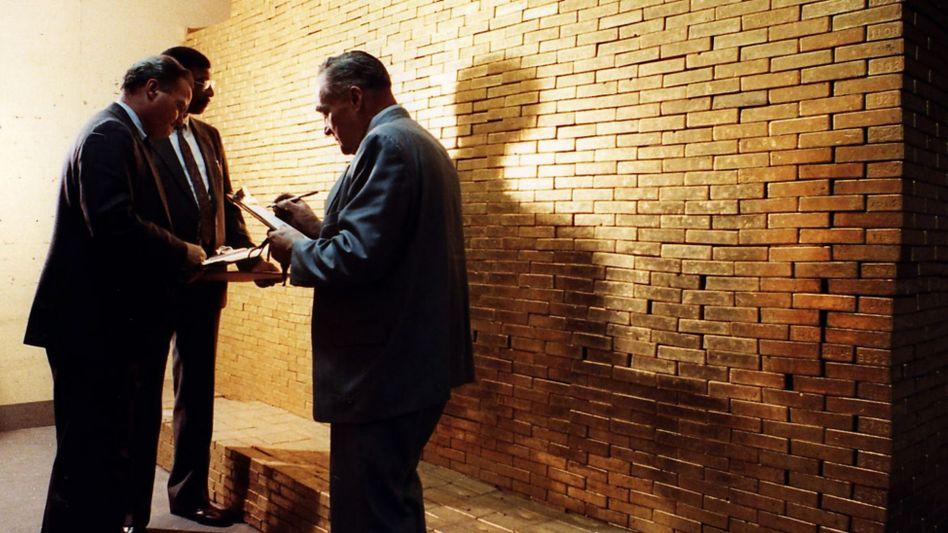Goldbarren im Tresorraum der Federal Reserve in New York (Archivbild): Hier lagern auch die afghanischen Vorräte