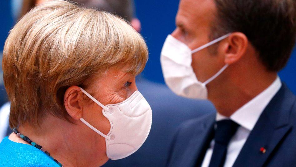 Merkel und Macron: Sie hatten einen 500-Milliarden-Euro-Plan vorgelegt