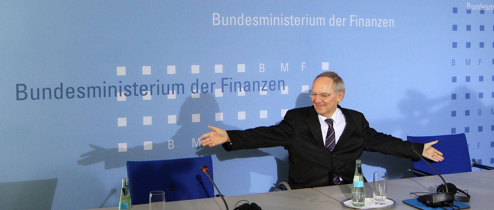 Pk Schäuble einladend